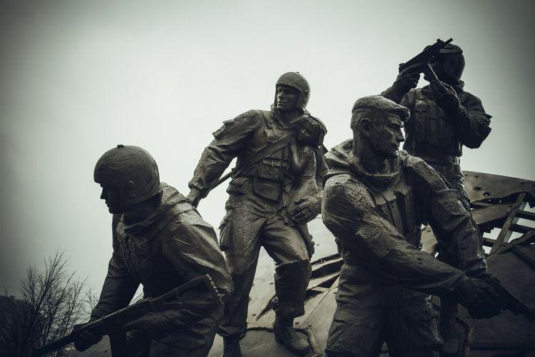 памятник спецназ Санкт-Петербург Alexxx Strelkovv Russia