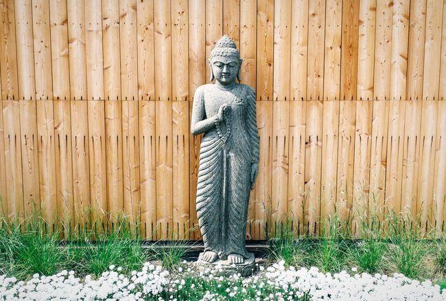 Buddha on the rooftop at the gym Secret Garden Open Edit EyeEm Masterclass EyeEm Best Shots - My World Zen Garden Meditation Buddha Buddha Statue Getting Inspired FujiX100T