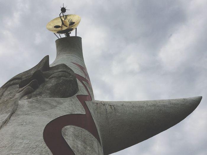 Tower Of The Sun Taro Okamoto Art
