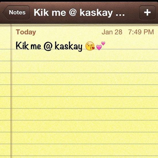 Too bored .. Kik anyone