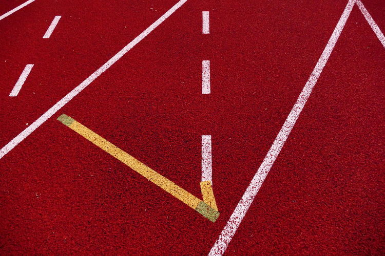Road Marking Red Full Frame Backgrounds LINE No People Parallel Running Track The Color Of Sport Clones Co. Monaghan Peacelink Sports Facility Art Is Everywhere BYOPaper!