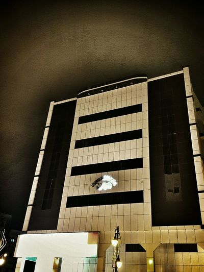 Nightphotography Building Cloudy Night Sky Eerie Beautiful Eerie Scene Check This Out Darkness