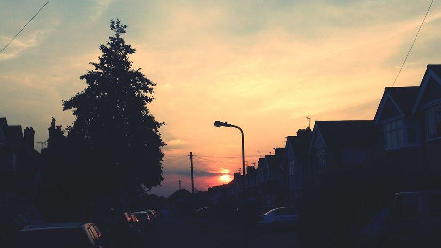Sunset Sky Clouds And Sky