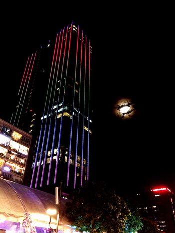 First Eyeem Photo Electric Light NguyenHue Street Nguyenhuewalkingstreet I Love My City