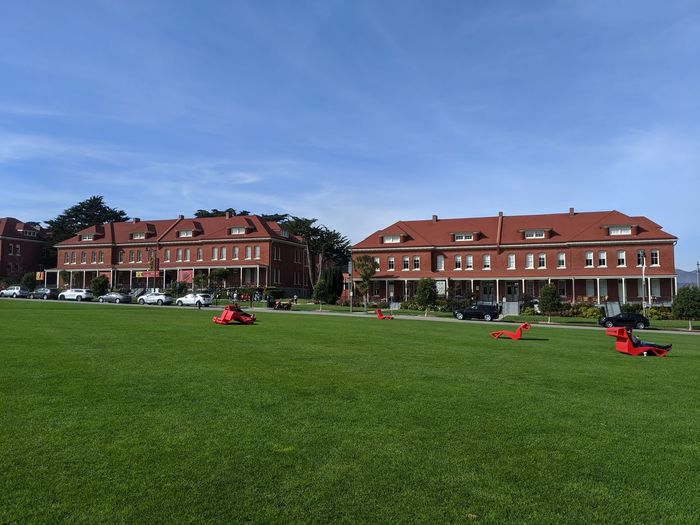 Grass Building