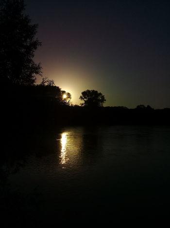 Sunset Nature Sunset River