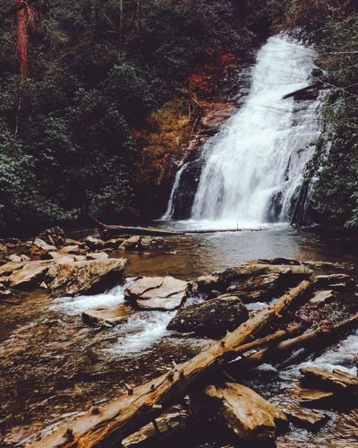 Helton Creek Waterfalls Nature Photography Awesome_captures Awesome_nature_shots Nature On Your Doorstep EyeEm EyeEmBestPics Nature_collection Water Motion Nature Splashing Sea Power In Nature Scenics - Nature Flowing Water Waterfall Forest Rock - Object Tree