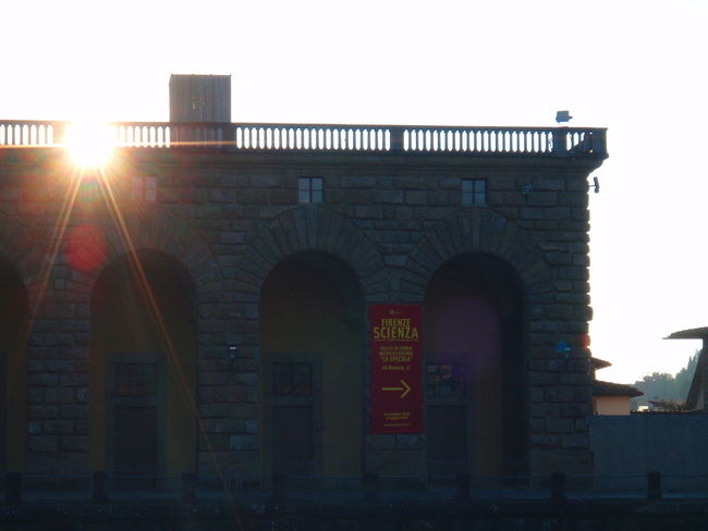 Arch Arched Architectural Feature Architecture Building Exterior Built Structure City City Life Façade History Low Angle View Museum Outdoors Palazzo Pitti Science Sunset Tourist Attraction