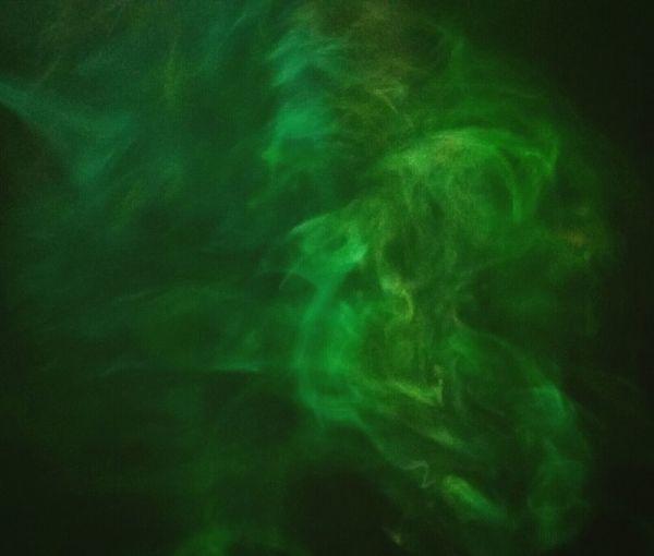 Smoke Smoketricks Clouds Illuminated Oddities Blurred Motion Contours Abstract Glowing Motion Photography Monsters Smoke Tricks Smoke♥ Dreamlike Black Background Green Color Strange Clouds Smoketricks Demons All Around Us Demons Inside Contour
