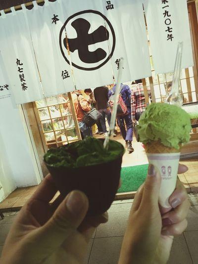 🍵 × 🍨 Nanaya Matcha Shizuoka,japan Yammy!!  Verygood Nice Day