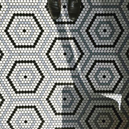 Pattern Symmetry Backgrounds Full Frame Close-up No People Abstract Connection Textured  Indoors  Day Hexagon Polygon Tiles Shadow Beautifully Organized