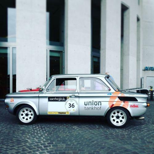 Nsutts Nsu TTS Racecar Vintage Cars Classic Car Soloparking Freiburg Schauinsland