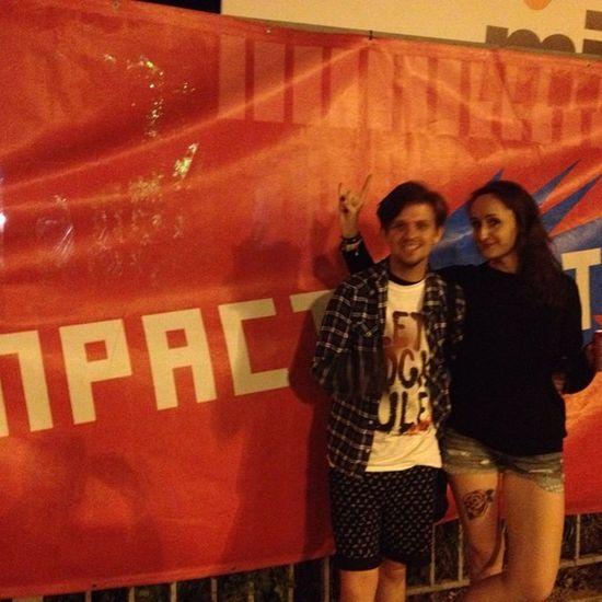 Bylo_fantastycznie Impact Festiwal Łódź Girl Tattoo Przyjaciel Koncert Fani Areosmith
