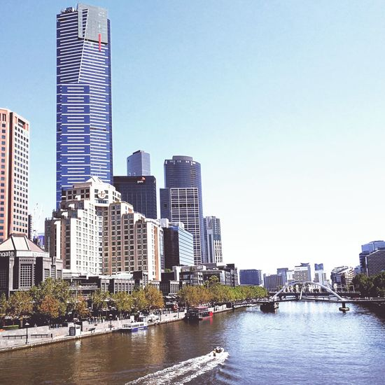 The Edge Southbank Yarrariver Princesbridge Melbourne Cityscapes Eurekatower Urban Skyline Travel Destinations Landmark The Week On EyeEm