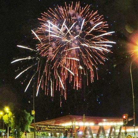 Feliz Año  2014 Pudahuel Canon sx50