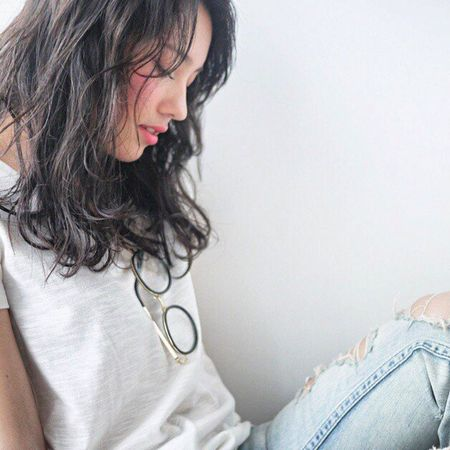 Me Brasileira  Model Hairsalon モデル ヘアカタ Japan 撮影中の一瞬