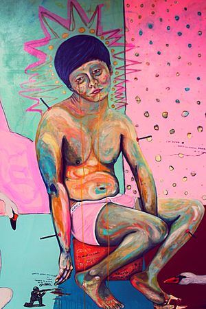 """4ever Lolito"" by Mr Poper. Mexican Art Paint Selfportrait Colors Puebla MrPoper"
