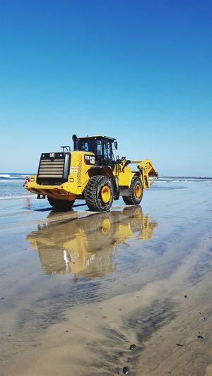 Heavy Equipment Water Catapiller Construction Machinery Construction Vehicle Beach Construction