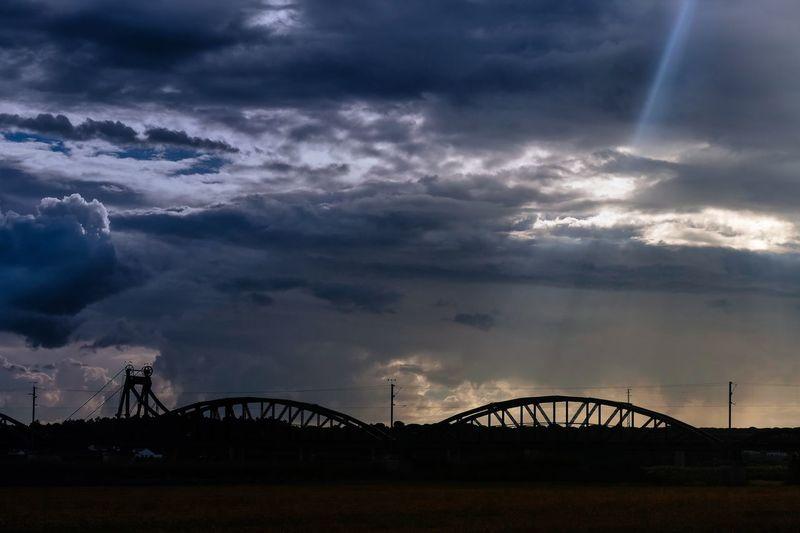 Sunset Portugal Alcacer Do Sal Cloud - Sky Sky Built Structure Architecture Bridge Bridge - Man Made Structure Nature