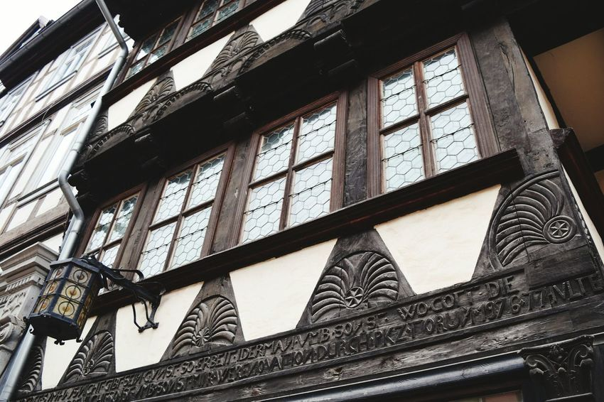 Low Angle View Architecture Built Structure Window Building Exterior How Is The Weather Today? Travel Destinations Harz Showcase February 2017 Outdoors Winter 2017 February 2017