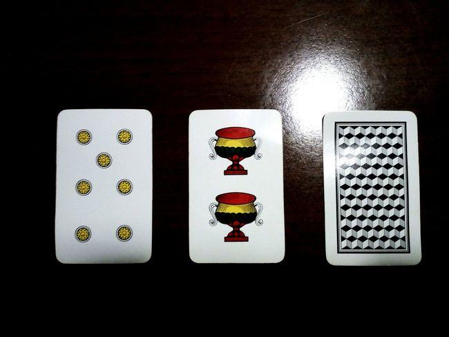 Black Background Variation Gambling Close-up