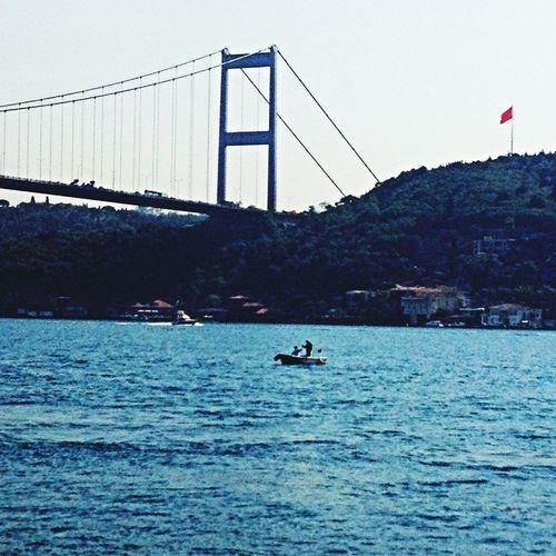 Quarrel in the middle of the sea... Taking Photos Enjoying Life Writing :)) Bosphorus