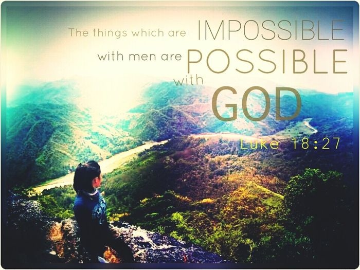 Something to encourage each and every one of us. All things are possible. Encouragement Word Of God Bible Verse Of The Day Declare Claim Believe All Things Are Possible Hidden Gem Hidden Gems  Athleisure