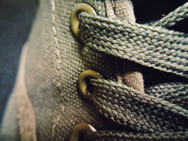 Closeup Rubber Shoes