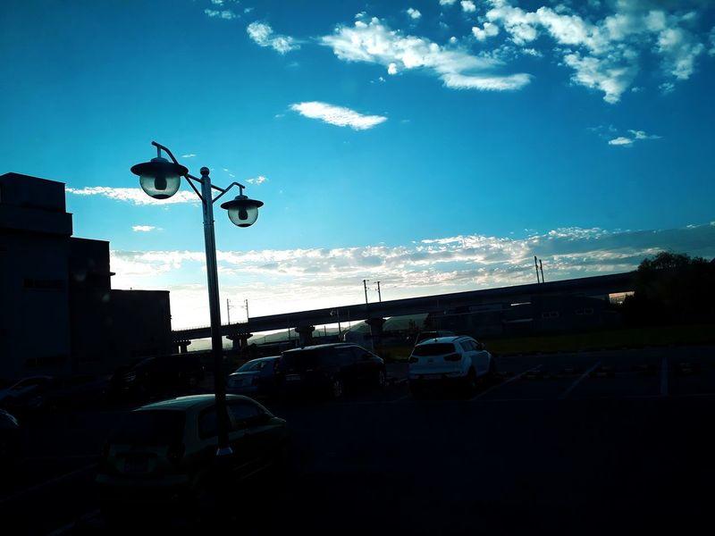 시골 풍경 Korea 구름 하늘 그림자 필터 Blue Blue Sky Treval Technology Silhouette City Sky Architecture