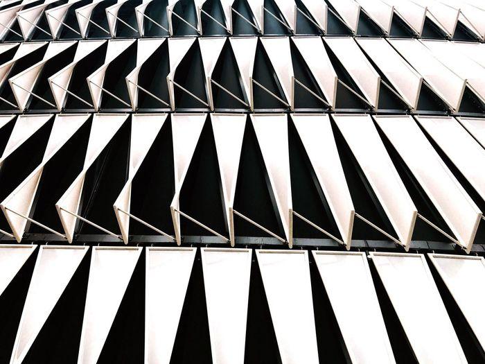 Es un mundo en donde La Luz y la oscuridad tiene un lugar muy definido Pattern Full Frame Low Angle View No People Architecture Modern Day Close-up Outdoors San Mamés Stadium Atletic Bilbo Bilbao Verano