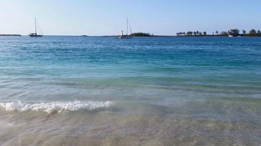 Nassau Bahamas Beach Sea Sand Vacations Water Nature Travel Destinations Tourism