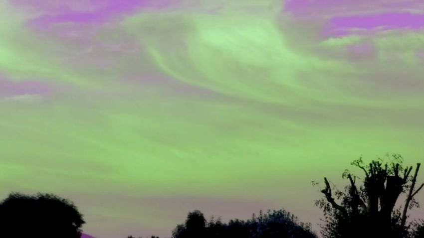 Same Sky Different Filter Different Filter, SAME Period, Same Me Green Sky Different Vibe Something Wicked This Way Comes... LOL! Purple Sky