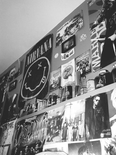 My Bedroom Tired Nirvana Blink 182