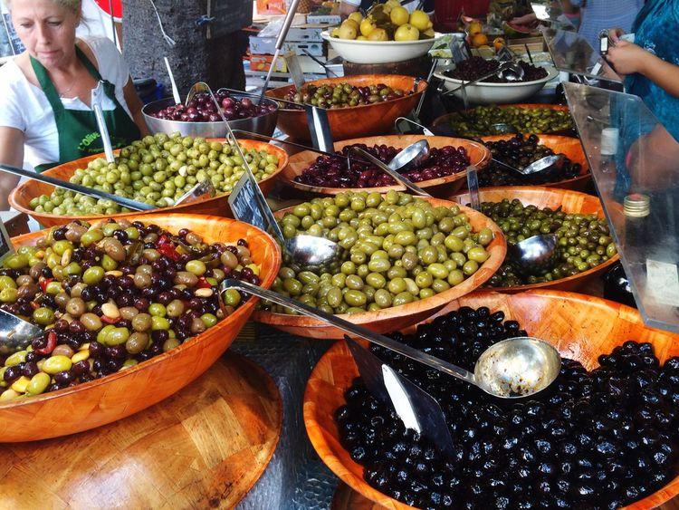 France Olives Food Mediterranean
