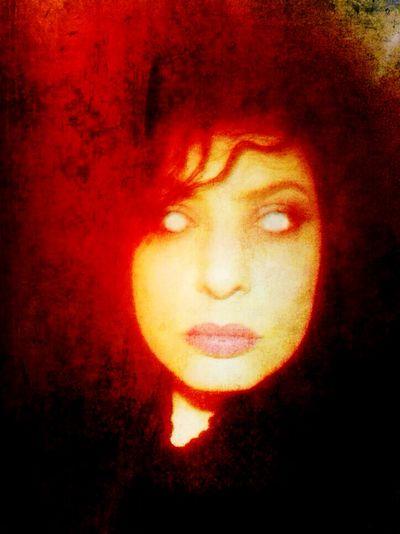Red Dark Edit Dark Art NEM Self OpenEdit Open Edit Selfportrait Look Into My Eyes... Look Into The Darkness  Goth Self Portrait Dark Portrait Darkart Darkness MemyselfandI