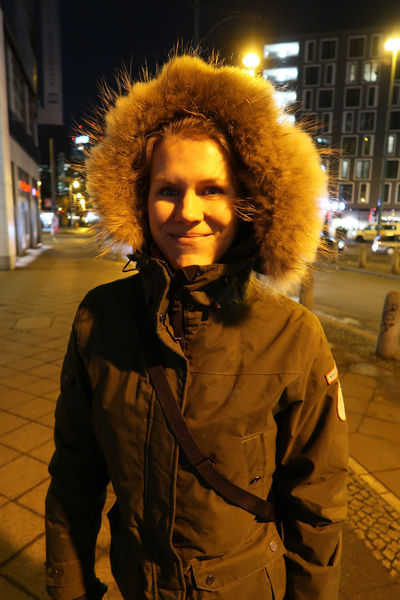 Portrait of a zoung woman in a wintercoat. City Cold Fashion Focus On Foreground Front View Illuminated Jacket Lifestyles Looking At Camera Medium-length Hair Night One Person Outdoors People Portrait Portrait Of A Woman Real People Standing Street Warm Clothing Winter Wintercoat Woman Young Adult Young Women