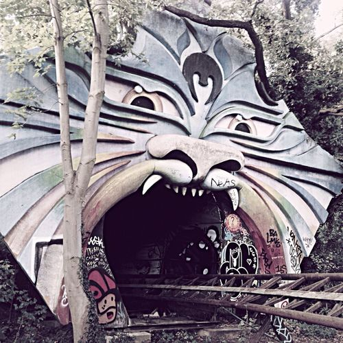 The Infamous Abandoned Roller Coaster in Spreepark