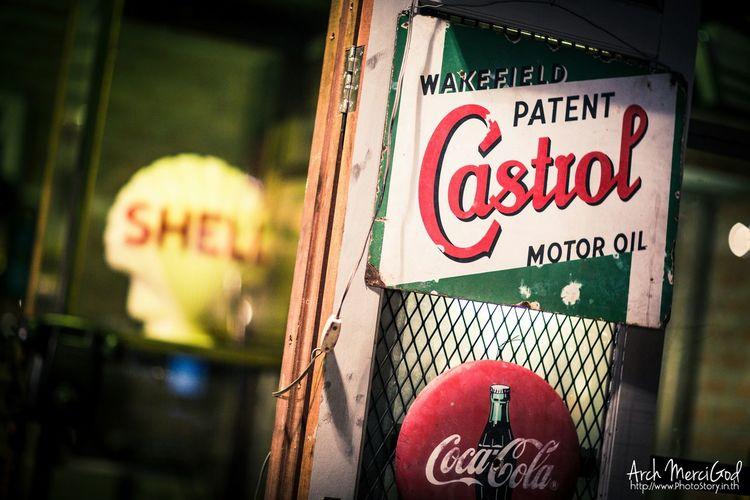 ตลาดนัดรถไฟ ศรีนครินทร์ NightStreet Landscape Night Market Archmercigod Vintage Market Antique Castrol Shell #cocacola