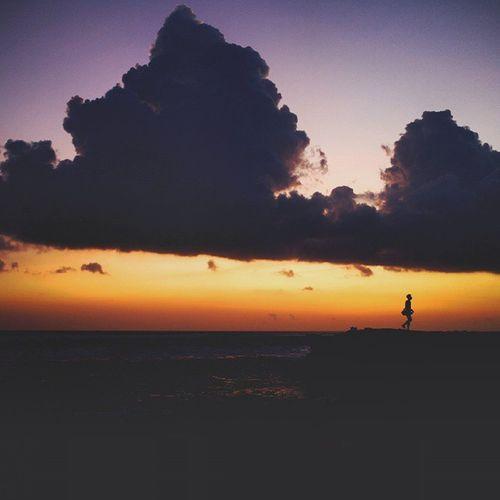 sunset hari ini Canggu Bali Sunset Batubolong nice bernhardarifmargiraharjo vscocam instagood vsco canon eosm bam love photooftheday f4f follow4follow