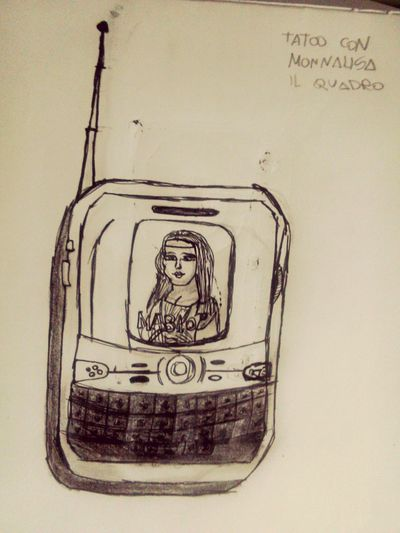 Tattoo Monnalisa Quadro Leonardodavinci Radio