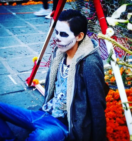 Mexico One Person Culture And Tradition Mexico City Tradition Mexico Photography Urban Life Real People