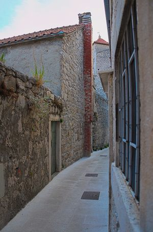 No People Architecture Day Outdoors Old Town Narrow Street Omis Croatia
