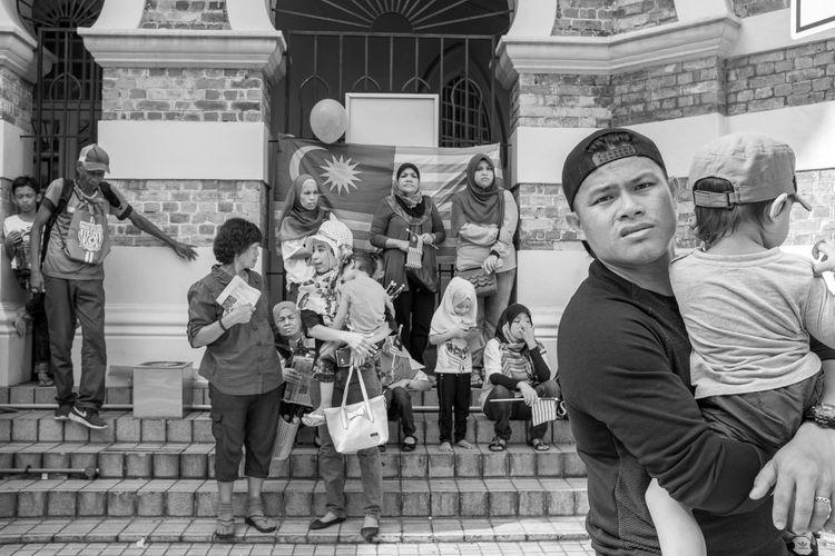 Malaysia 59th Independence Day Kuala Lumpur August 31, 2016 59th Independence Day Black And White Black And White Street Photography Independence Day Independence Day Celebration By ITag Kuala Lumpur Malaysia Merdeka Square Street Life Street Photography