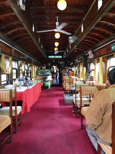 Wagon  Real People Indoors  One Person Adult Day Only Men Vintage Restaurant Narrow Vintage Wagon Standing Men Adults Only People Freshness