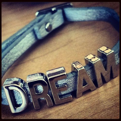 Never stop dreaming Dreams & Memories Jewelry Dance Art College