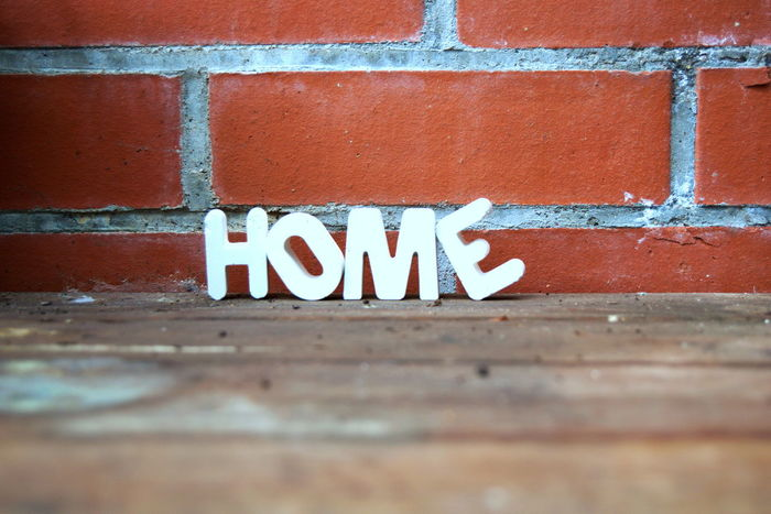 When you feel like home Brick Wall Decoration Dekoration Home Information Interior Lettering Letters No People Outdoors Plaster Text White Letters Wood Eyeemphoto Brick Beautifully Organized Bricks Brickwall Letter Art Letter H Letter E Letter L Letter O Brick Wall Background