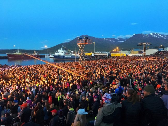 Harbour Party Time Fish Party Dalvik Music Iceland Iceland216