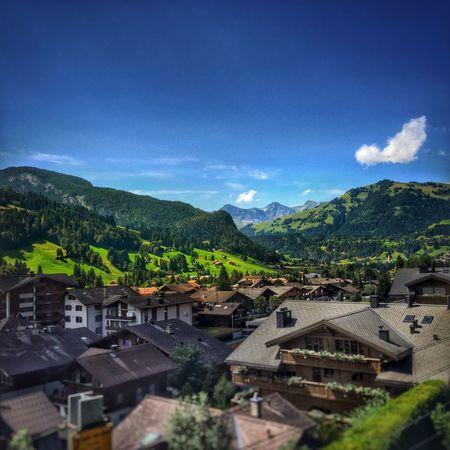 Gstaad, Switzerland Nature Mountains Alps Gstaad Town First Eyeem Photo