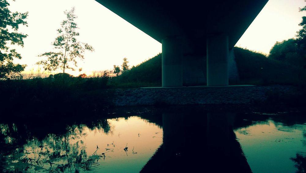 Pasewalk anne Uecker Under The Bridge Built Structure No People Outdoors Water Evening