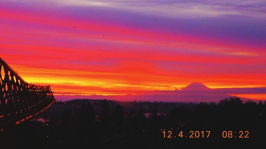 Sunrise Seattle Sunrise Seattle's Best Sunrise_Collection Seattle Skyline Mountain Mountains Sunset Scenics Silhouette Landscape Outdoors No People Mountain Beauty In Nature Day Nature Sky